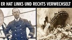 Dieser Mann hat sehr wahrscheinlich die Titanic zerstört