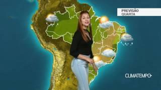 Previsão Brasil - Massa de ar seco ganhando força no país