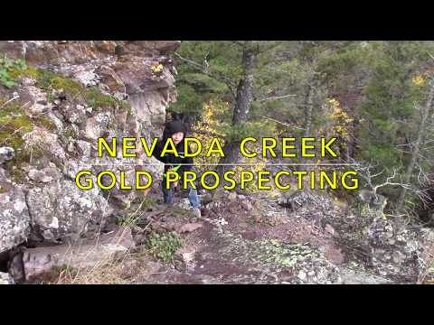 Prospecting Nevada Creek