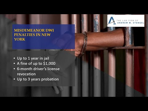 New York DWI Lawyer - Driving While Intoxicated Attorney NYC - DWAI Lawyer New York