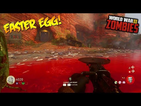 "WW2 ZOMBIES - ""THE DARKEST SHORE"" MAIN EASTER EGG HUNT! (Call of Duty WW2 Zombies)"