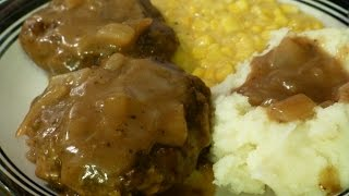 Southern Style Hamburger Steak