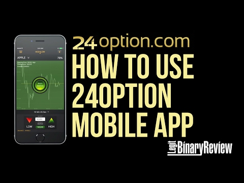 How to Use 24option Mobile App