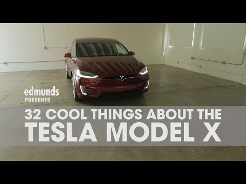 32 Cool Things About the Tesla Model X