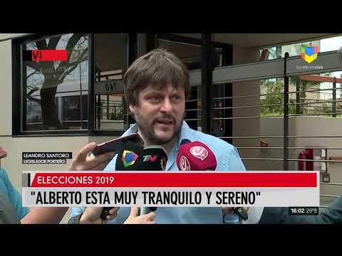 Argentina decide: Leandro Santoro sobre la foto de Alberto Fernández pidiendo la libertad de Lula