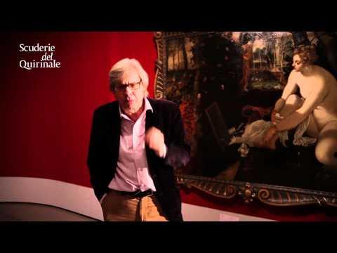 Vittorio Sgarbi, curatore della mostra, ci parla di Tintoretto e della maniera veneta