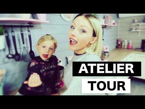 ♡• ATELIER TOUR   NOUVELLE DÉCO & VISITE DE MON ATELIER •♡
