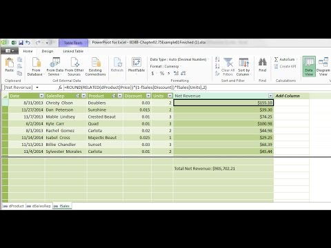 Basic Excel Business Analytics #40: Introduction to PowerPivot & Data Modeling