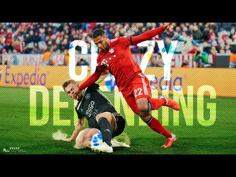Crazy Football Defensive Skills & Tackles - 2019 | HD
