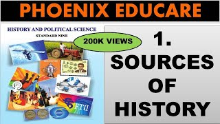 Sources of History - 9th Maharashtra State Board New Syllabus History Video Lectures