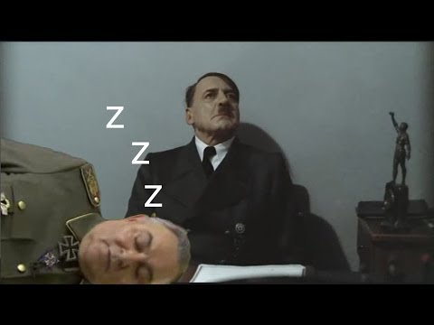 Göring sleeps in Hitler's office