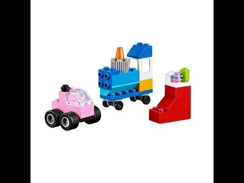 Lego Classic 10692 Car Instructions