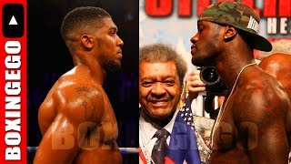 TEAM WILDER WILL NEGOTIATED ANTHONY JOSHUA FIGHT, AFTER TYSON FURY!