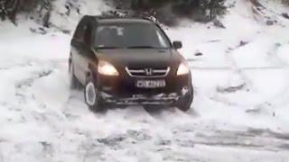 Honda CRV Off road Test Snow Mud Sand 2016 Compilation