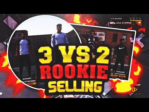NBA 2K18 - 3 VS 2 Getting Sold By A Rookie!!