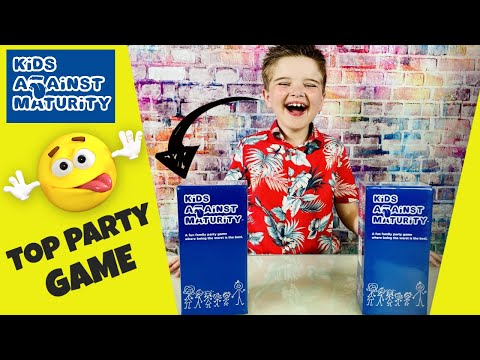 kids Against Maturity Kids Against Maturity Game || Hottest Game of the Year