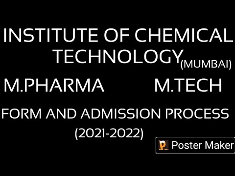 INSTITUTE OF CHEMICAL TECHNOLOGY,MUMBAI FORM OUT 2021-2022.#GPAT #NIPER #ICT