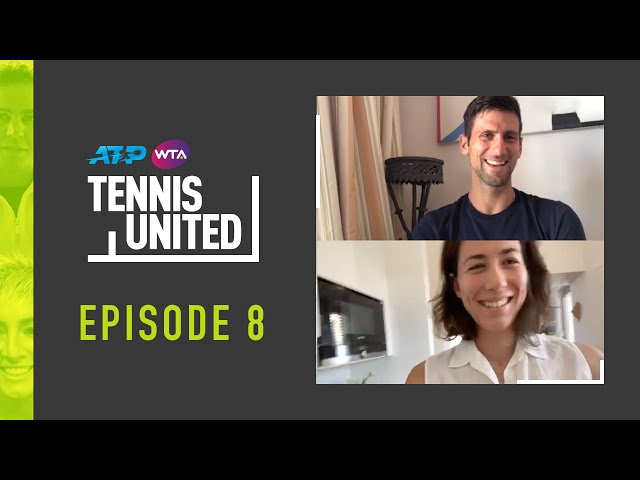 Tennis United | Djokovic & Muguruza Dish On Meal Prep