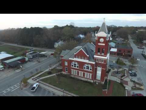 Buchanan Old Courthouse DJI Phantom 3 professional drone quadcopter 4K HD!