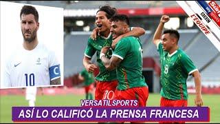 ASI REACCIONA PRENSA FRANCESA a VICTORIA de MEXICO vs FRANCIA JUEGOS OLIMPICOS TOKIO