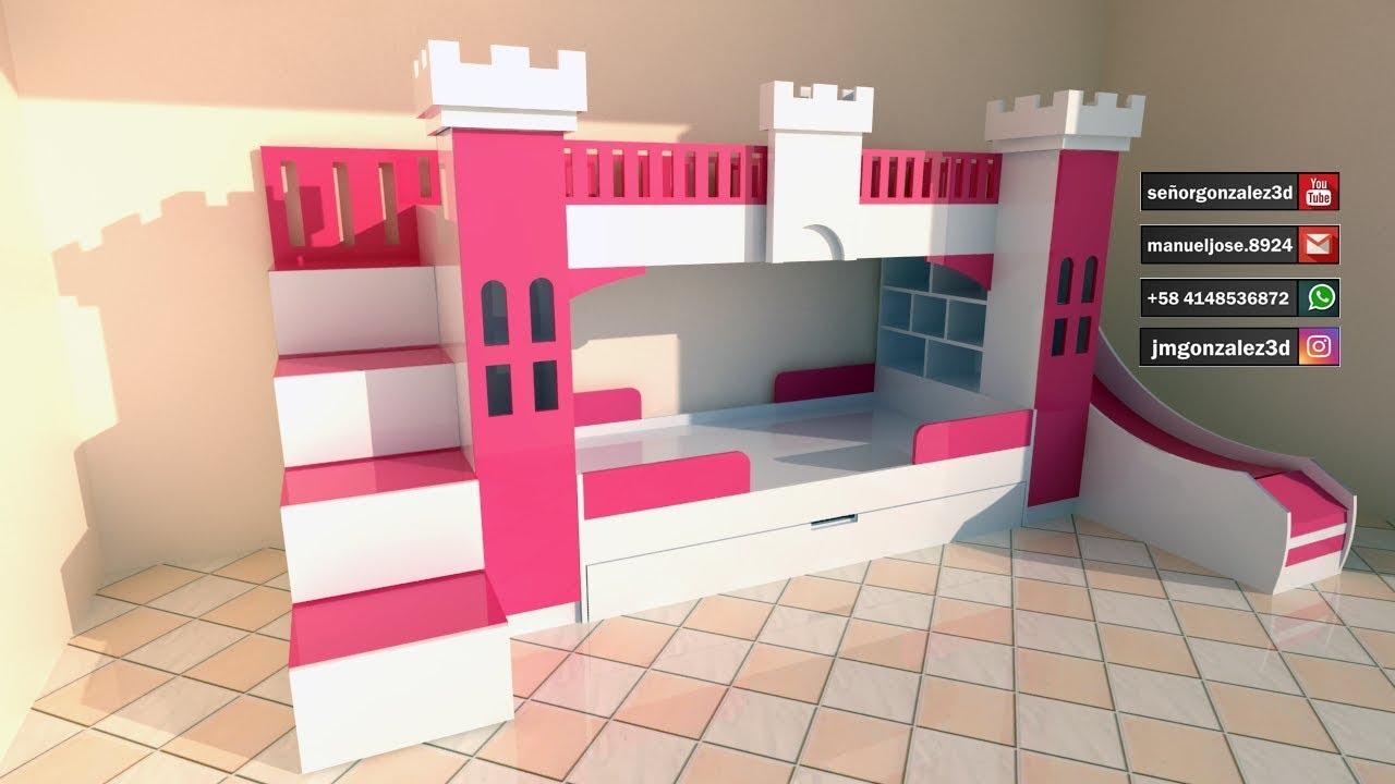 Planos para fabricar juego de cuarto para ni as youtube - Juegos de decorar cuartos para ninas ...