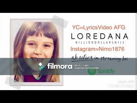 Loredana - Milliondollarsmile (Lyrics)(10 Stunden Version)