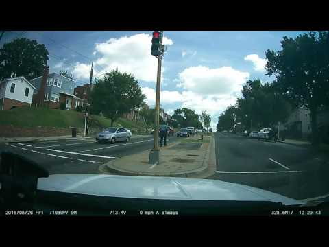 DC East Capitol St Shooting Aftermath Caught On Dashcam 8-26-16