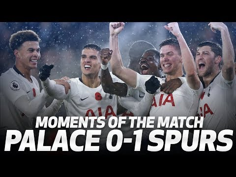 HUGO SAVES THE DAY | PALACE 0-1 SPURS | MOMENTS OF THE MATCH Mp3
