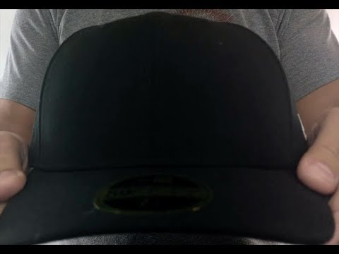 243a154b7 New Era 'LOW-CROWN 59FIFTY-BLANK' Black Fitted Hat