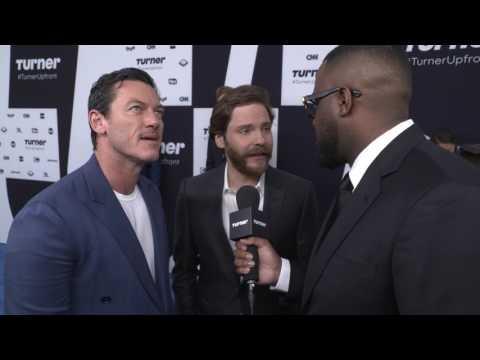 Turner Upfront 2017: Daniel Brühl and Luke Evans on the Red Carpet