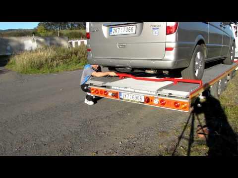 Fitzel SPEEDER manipulace s dorazem kol odtahové nástavby