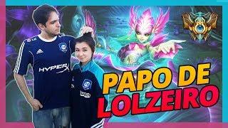 PAPO DE LOLZEIRO 04: CUTE, a única menina Desafiante do Brasil