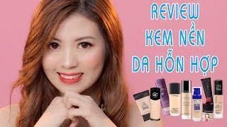 Review kem nền tốt nhất cho da hỗn hợp - Top Best Foundation for Combination Skin   Ngocmakeup