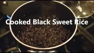 Black Sweet Rice Co Ng Rice Stove