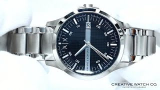 hands on with the men s armani exchange watch ax2103