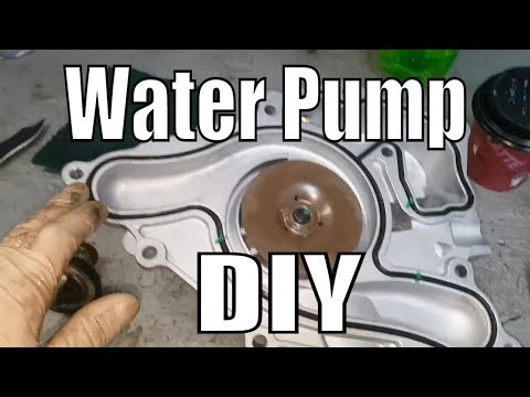 """How To Replace A Dodge Charger Water Pump """"And Cost"""""""