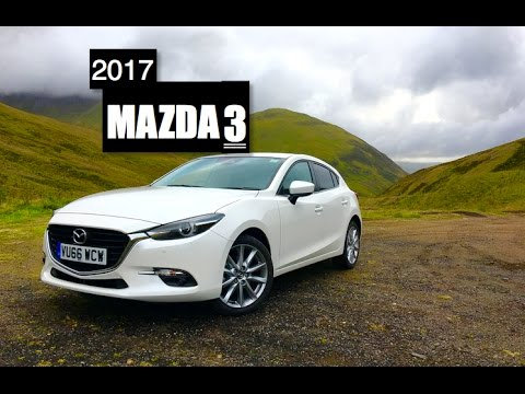 2017 mazda 3 review inside lane youtube. Black Bedroom Furniture Sets. Home Design Ideas