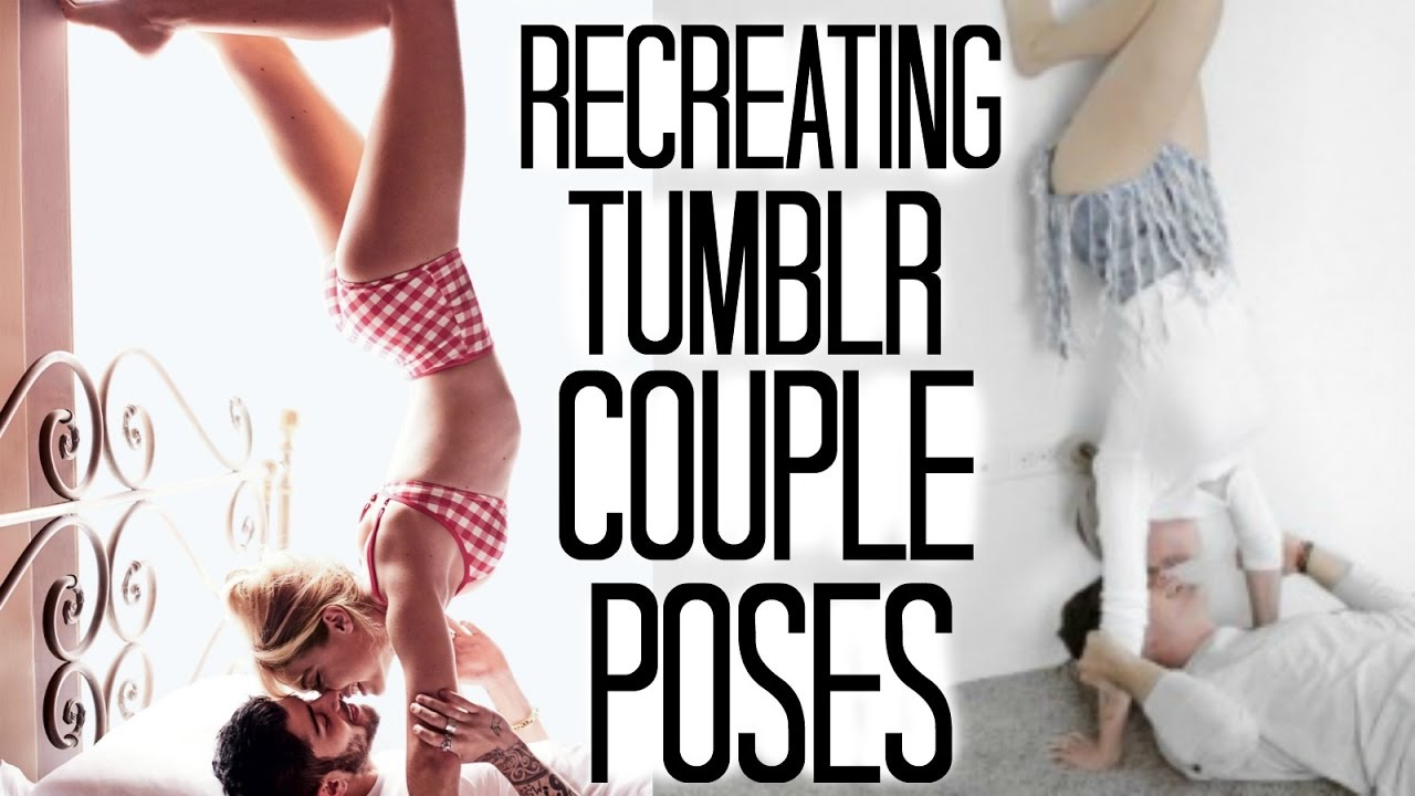 Hot Wife Challenge Tumblr recreating cute couple poses w/ husband