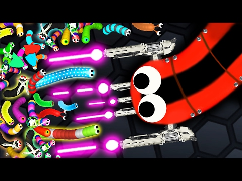 Thumbnail: Slither.io - 1 PERFECT SNAKE vs. 3500 SNAKES! // Epic Slitherio Gameplay! (Slitherio Funny Moments)