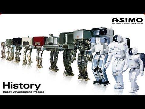 The Evolution of Asimo