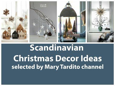 Scandinavian Christmas Decor Ideas - Minimalist Winter Decor Ideas