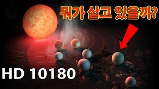 HD 10180 별의 밀도가 가장 높은 항성계