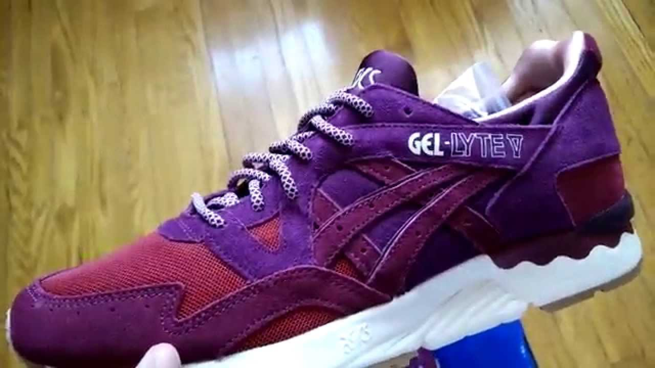 asics gel lyte v mita dried rose