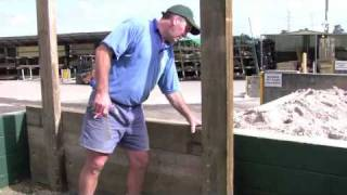 Timber Sleeper Walls - Construction