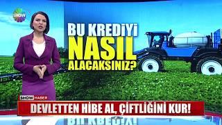 Devletten hibe al, çiftliğini kur!
