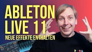 Ableton Live 11 - Das sind die neuen Effekte - Hybrid Reverb und mehr!