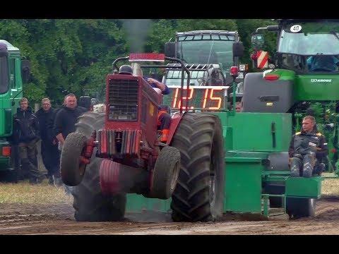 Trecker Treck Lützow 2018 - Belarus Sport Klasse | Tractor Pulling