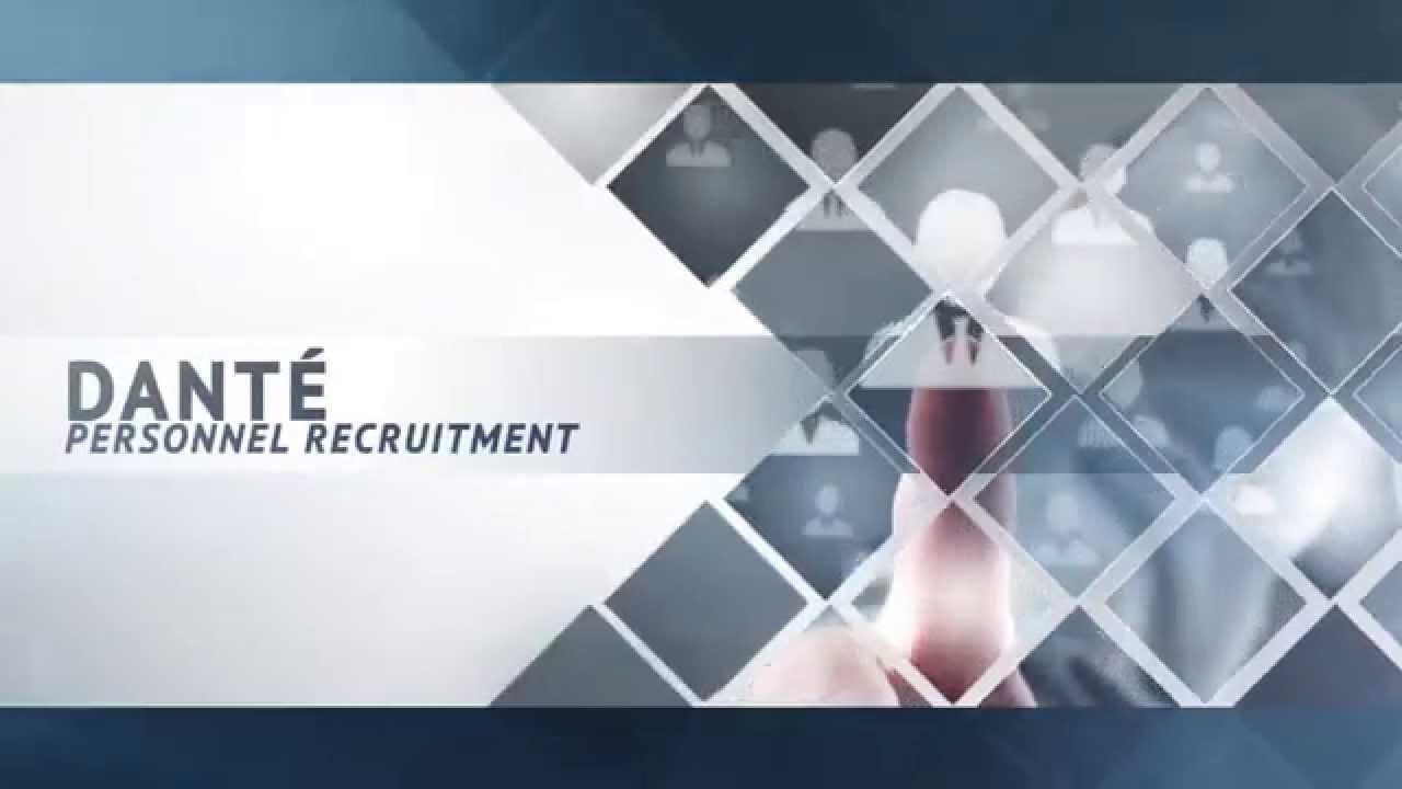 Dante Personnel Recruitment   Recruitment services to the