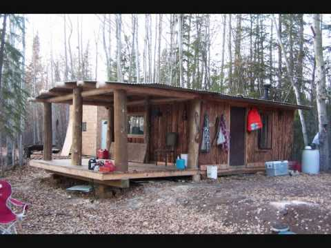 My Log Trapping Cabin Youtube