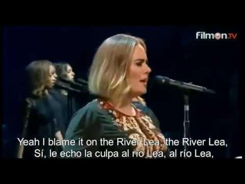 Adele - River Lea (Live In Concert) Sub Español - Lyric